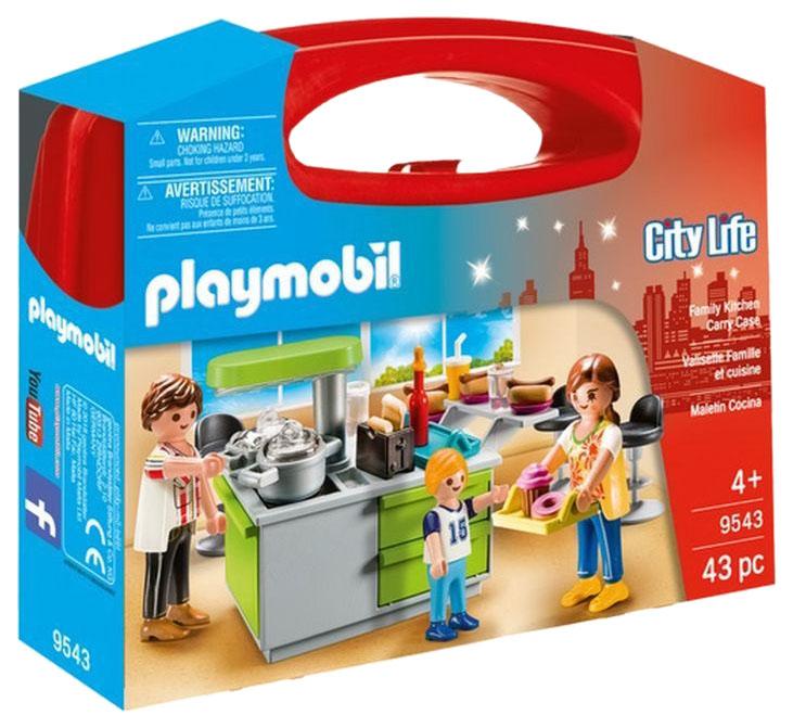 Купить Конструктор пластиковый Playmobil Возьми с собой: Кухня, Конструкторы пластмассовые