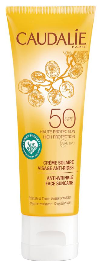 Солнцезащитное средство Caudalie Anti wrinkle Face Suncare