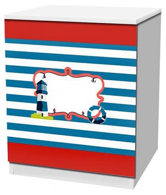 Отважный моряк TOM02, Тумбочка Кровати-машины Отважный моряк KMA_TOM02, Детские тумбы  - купить со скидкой