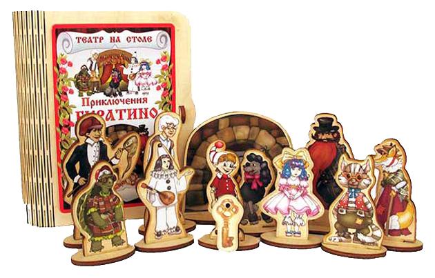 Кукольный театр Нескучные игры Приключения Буратино