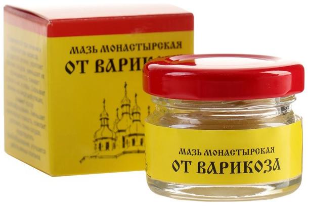 Мазь Монастырская Бизорюк Фабрика здоровья От варикоза