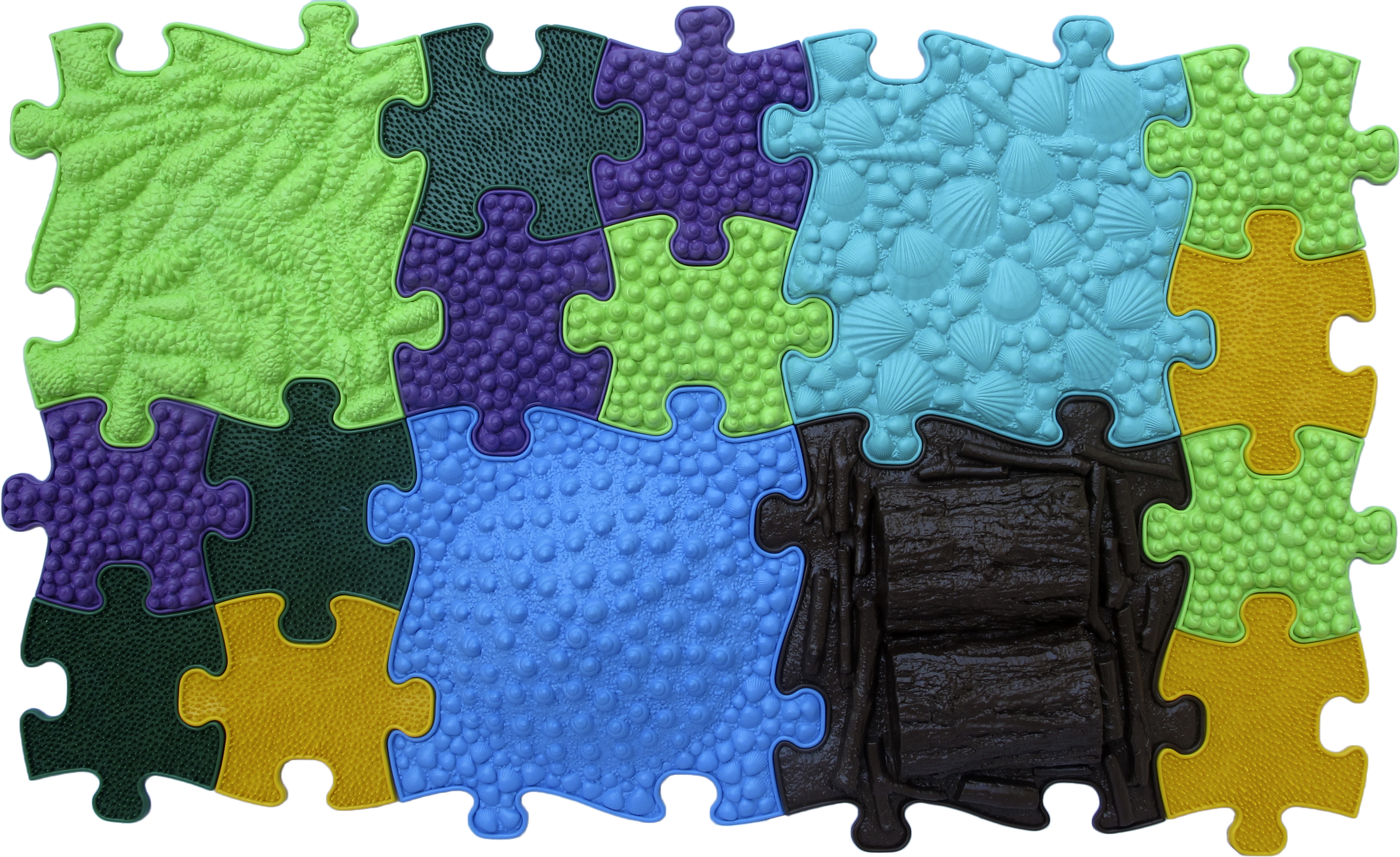 Купить Модульный Коврик-пазл ИграПол Микс, Играпол, Развивающие коврики и центры