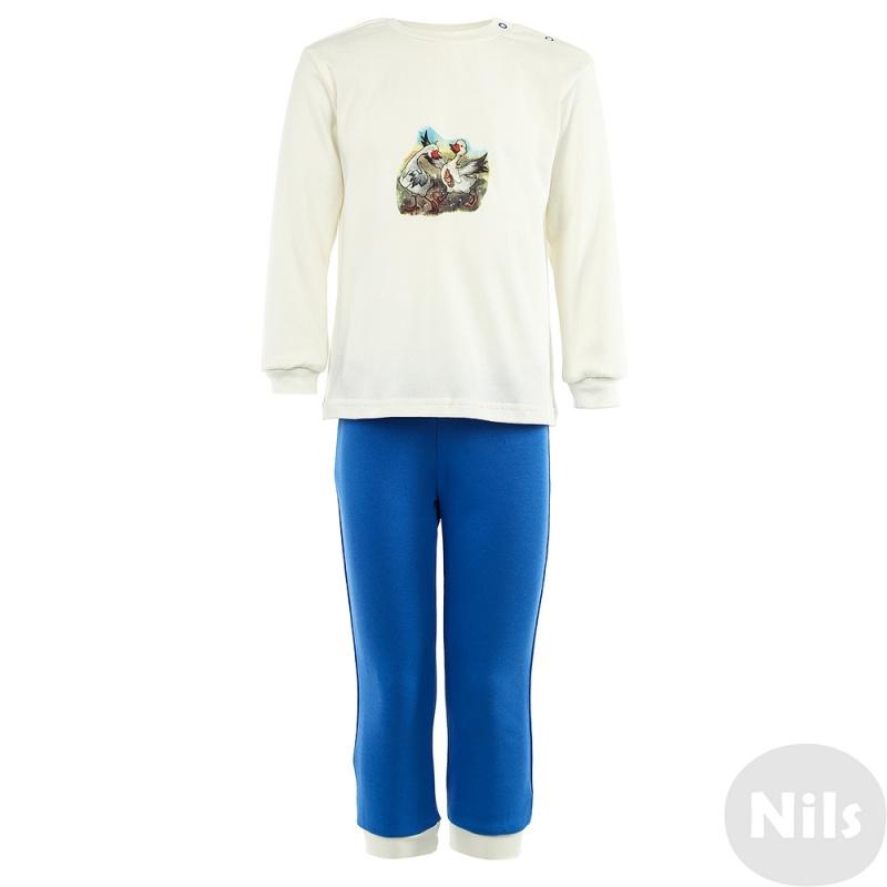 Купить Пижама Nils Бежевый р.116, Детские пижамы