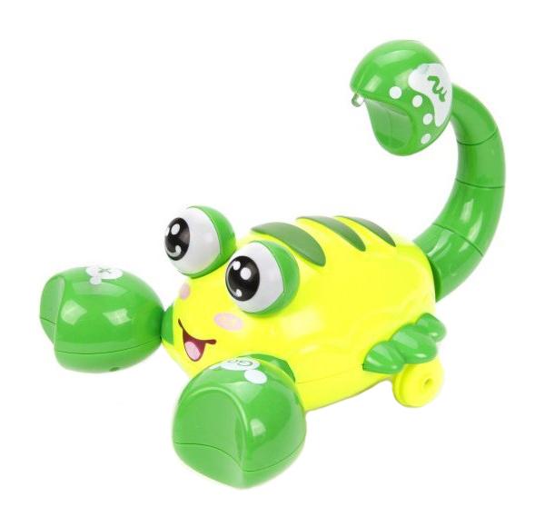 Купить Интерактивное животное Наша Игрушка Скорпиончик Y4935069 в ассортименте, Наша игрушка, Интерактивные мягкие игрушки