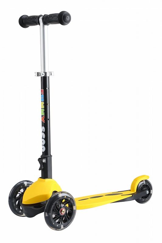 Самокат Funny Scoo RAY MS-915 желтый