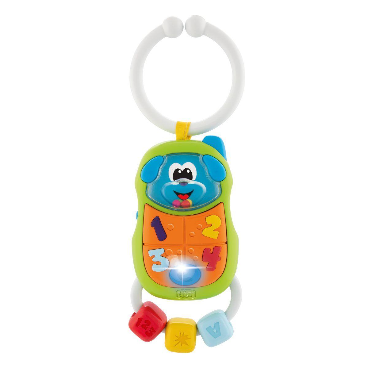 Игрушка-погремушка Chicco Телефончик 3м+