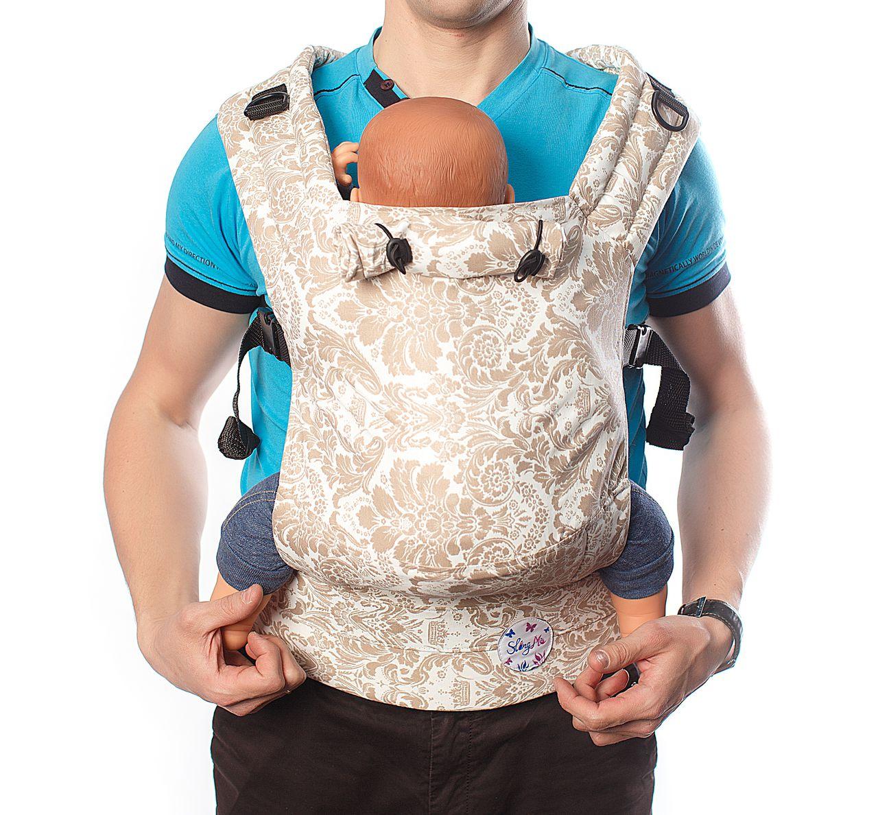 Купить Эргономичный рюкзак SlingMe Ажур Комфорт, Рюкзак-кенгуру