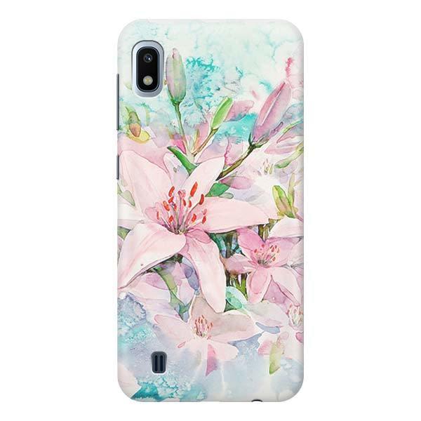 Чехол Gosso Cases для Samsung Galaxy A10 «Нежные розовые цветы»
