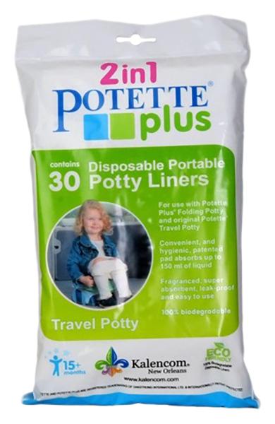 Био-пакеты для горшка Potette Plus одноразовые 30 шт.