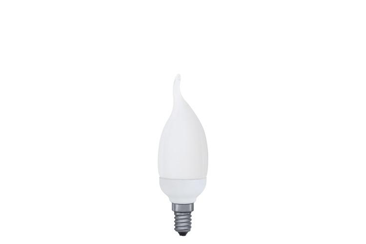Лампа энергосбер. Теплый свет  7W E14 теплый