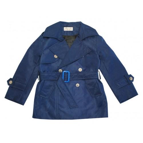 Купить Плащ для мальчика Bon&Bon 254.1 синий Р.86, Детские плащи и дождевики