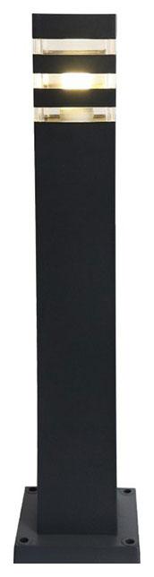 Ландшафтный столбик Elektrostandard 1550 TECHNO черный