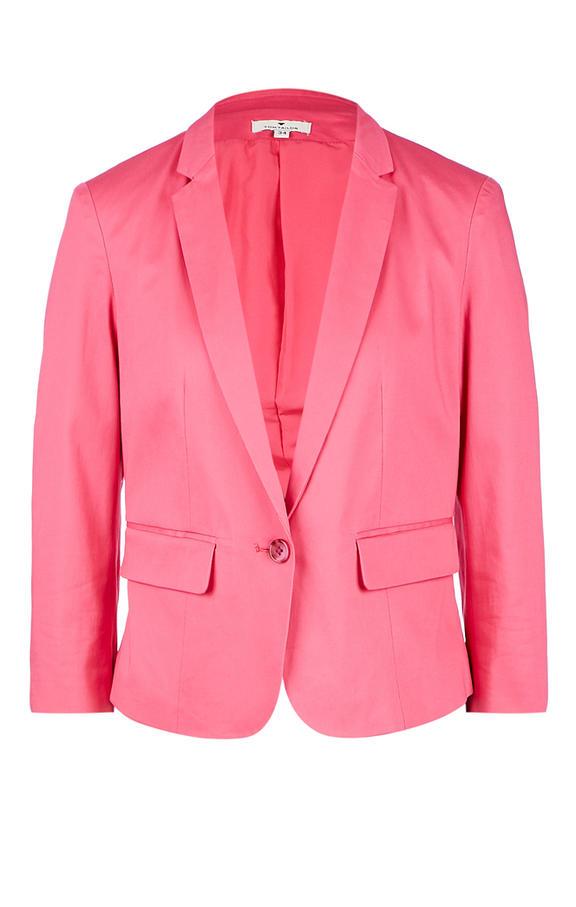 Пиджак женский TOM TAILOR розовый 40