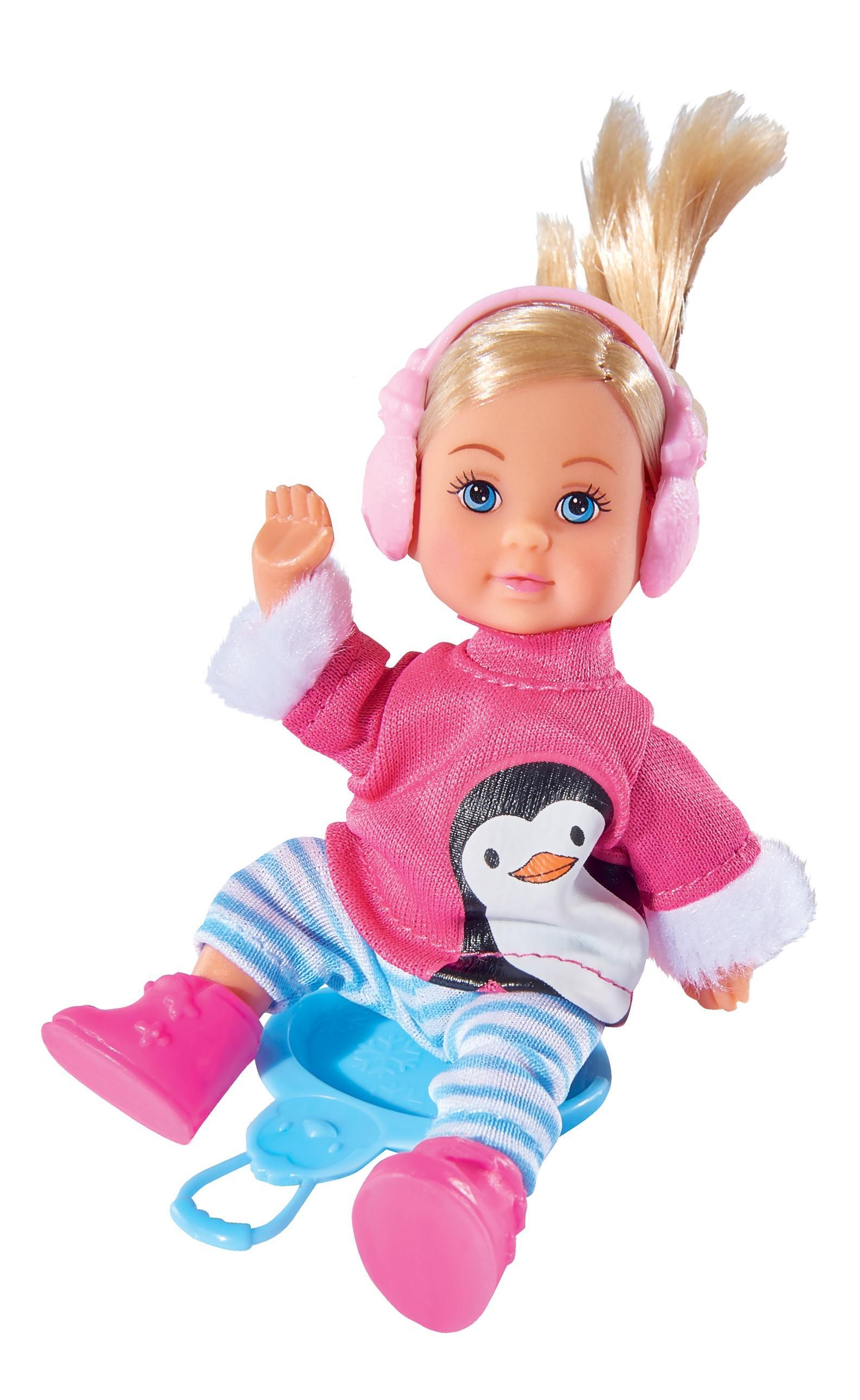 Кукла Simba Еви в зимнем костюме