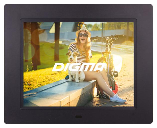 Цифровая фоторамка Digma PF 833 Black