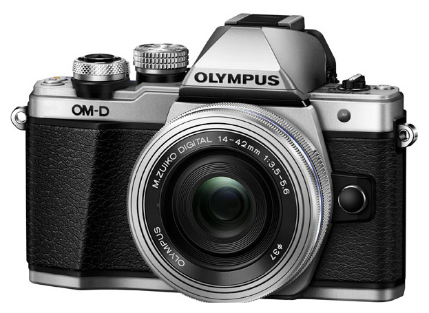 Фотоаппарат системный Olympus OM-D E-M10 Mark II Kit Silver фото