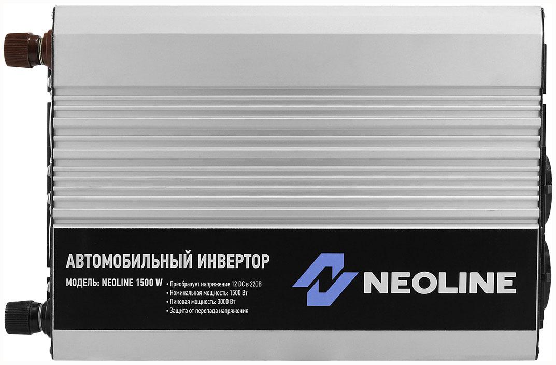 Автомобильный преобразователь напряжения Neoline 12В 220В 1500Вт