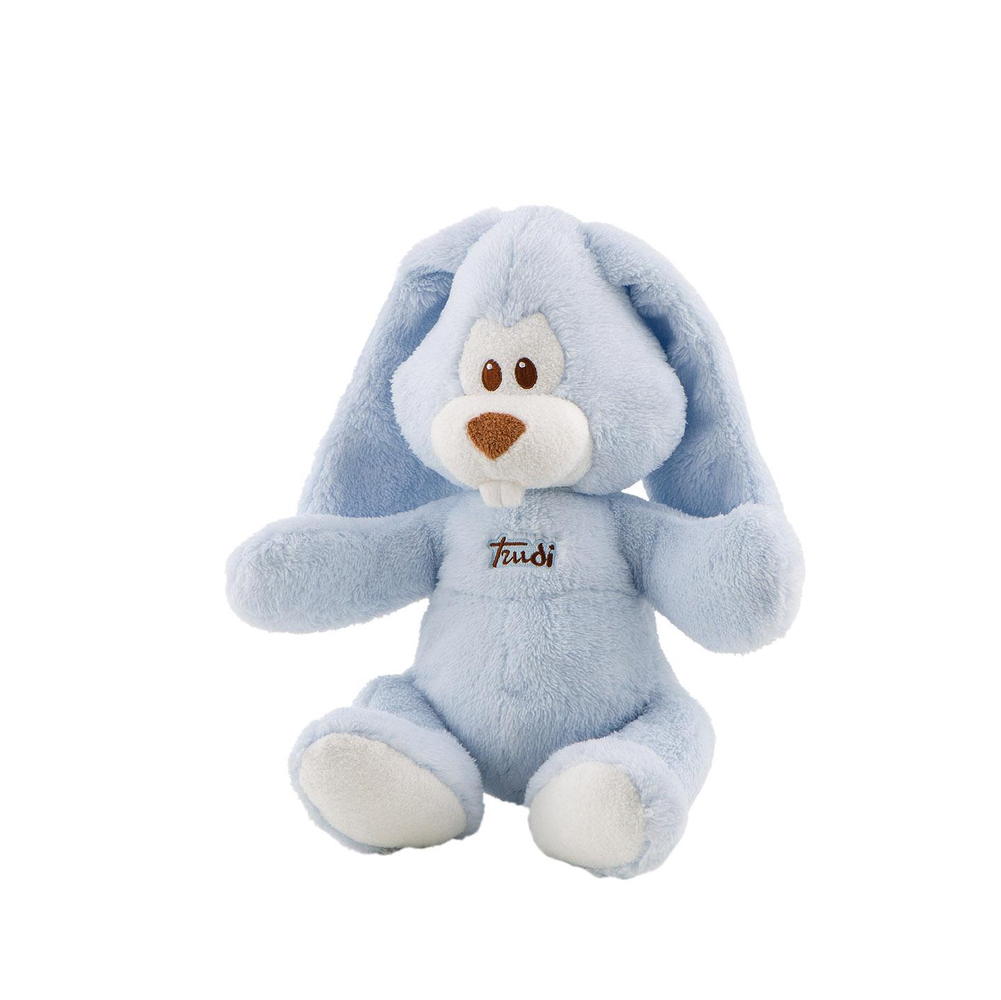 Купить Мягкая игрушка Trudi Заяц Вирджилио (голубой), 36 см, Мягкие игрушки животные