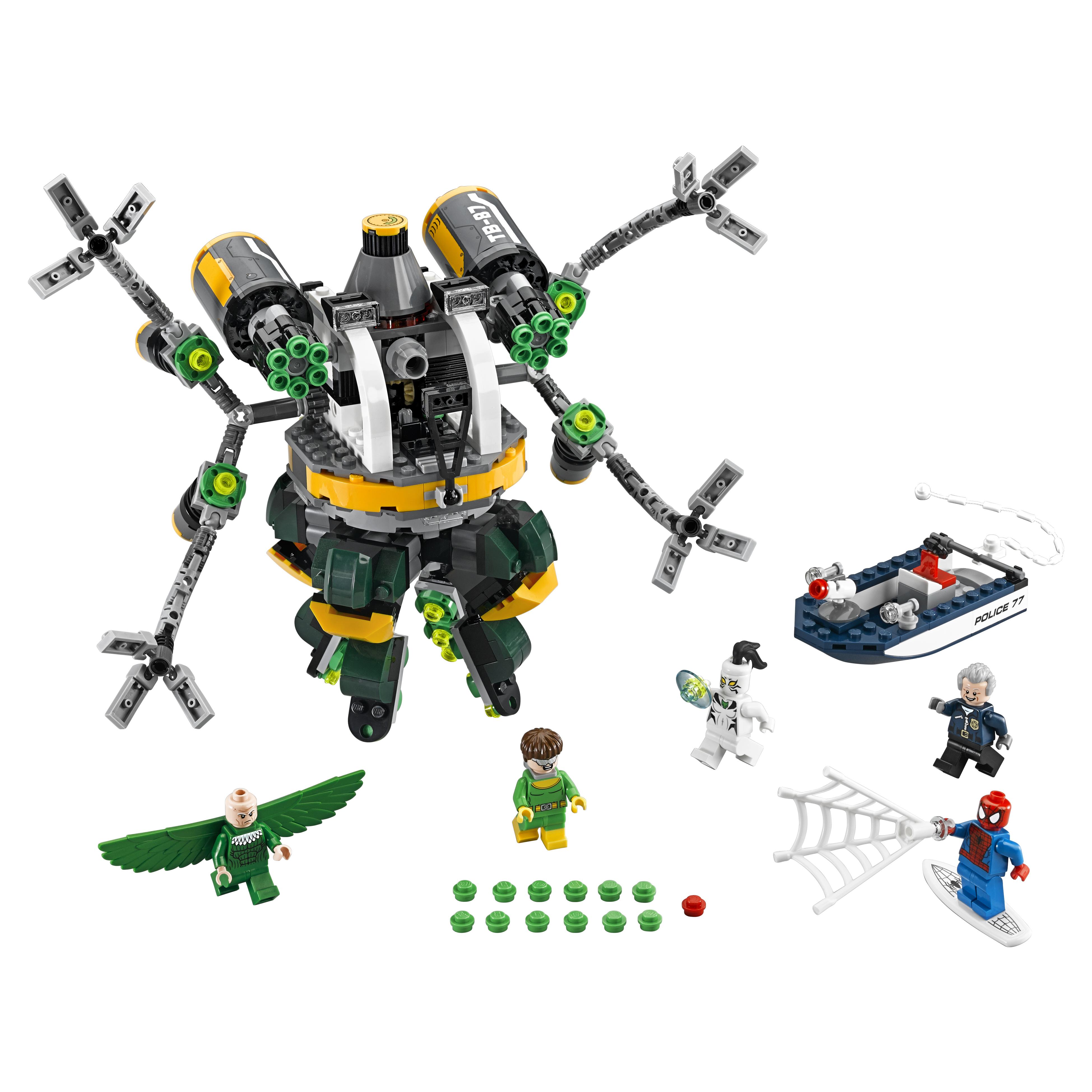Конструктор LEGO Super Heroes Человек паук: