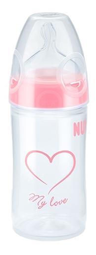 Купить Nuk first choice new classic бутылочка из пп, 150 мл + сил.соска fc, Бутылочки для кормления