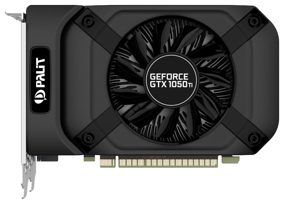 Видеокарта Palit nVidia GeForce GTX 1050 Ti (PA-GTX1050Ti StormX 4G) фото