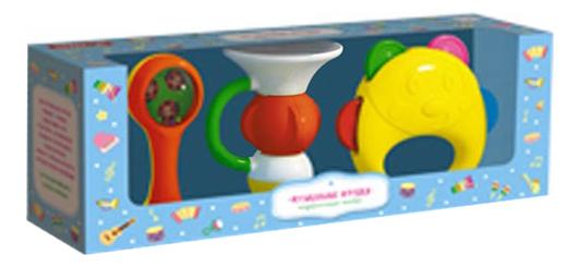 Купить Набор музыкальных инструментов детских STELLAR Музыкальные Игрушки №1, Детские музыкальные инструменты