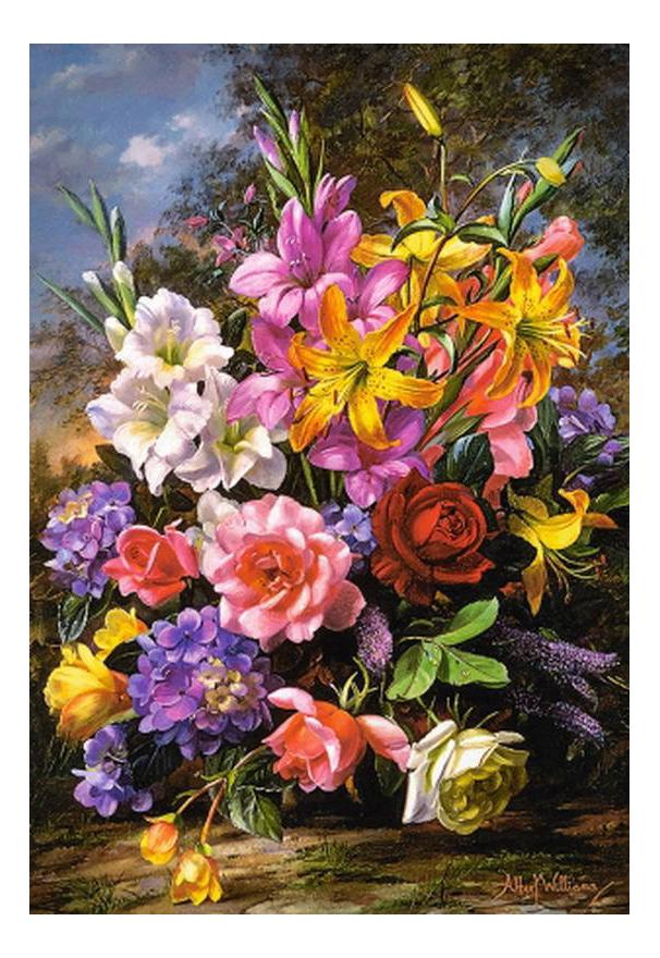 Пазл Castorland Ваза с цветами 1000 деталей