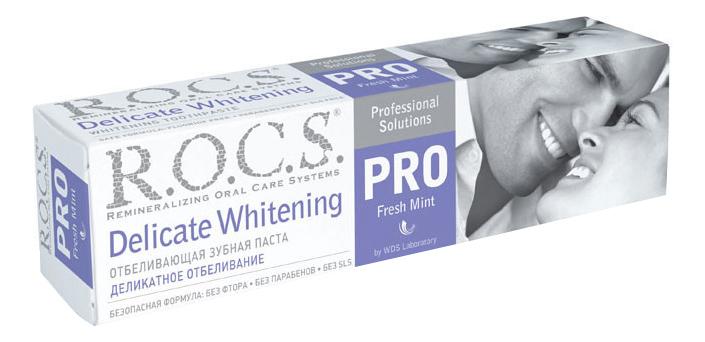 Зубная паста R.O.C.S. деликатное отбеливание Fresh Mint 135 г.
