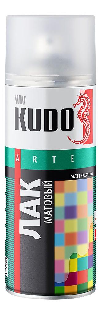 Лак универсальный акриловый матовый KUDO ,520 мл