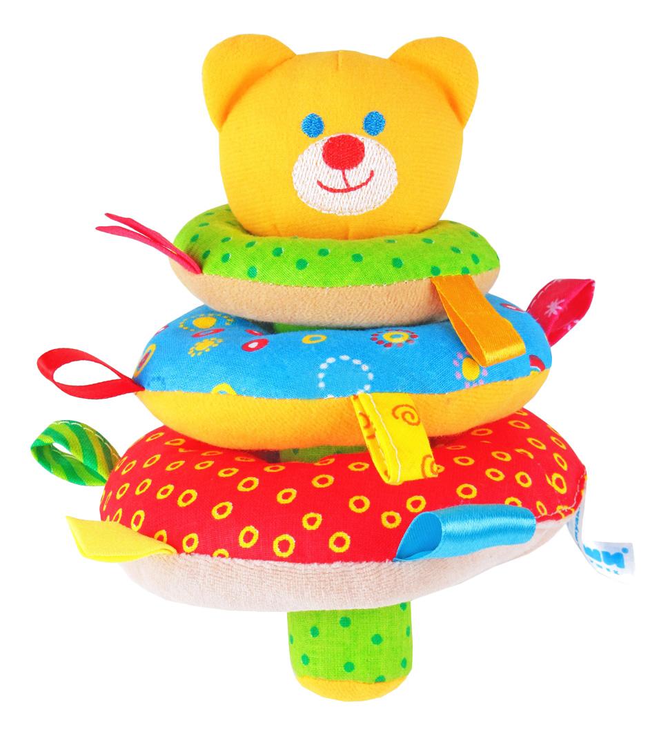 Мягкая развивающая игрушка Мякиши