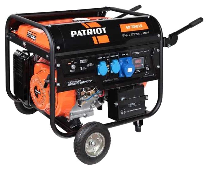Бензиновый генератор Patriot GP 7210LE 474101588