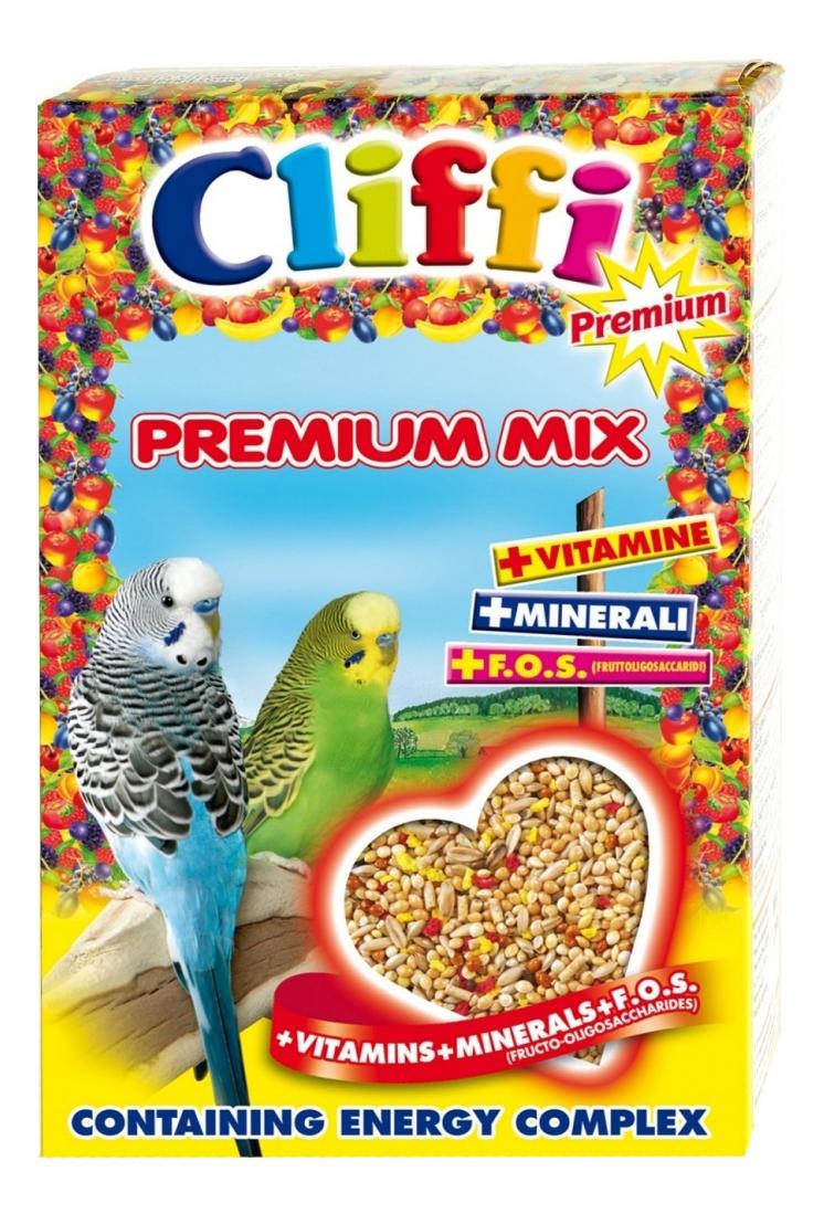 Основной корм Cliffi для волнистых попугаев