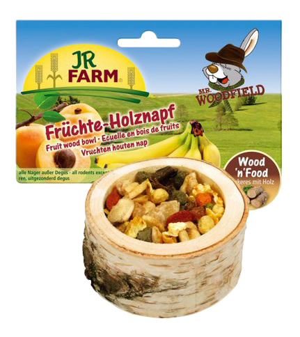 Лакомство для грызунов JR Farm Чаша с фруктами,