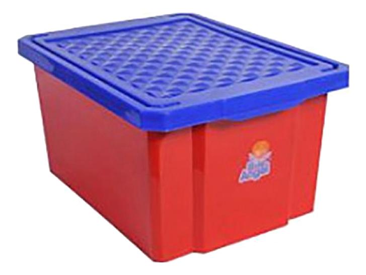 Ящик для хранения игрушек Plastic Republic 17 л красный
