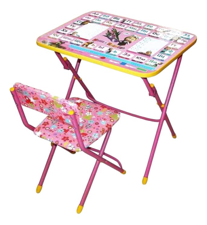 Комплект детской мебели Ника Маша и Медведь. Умничка Nika