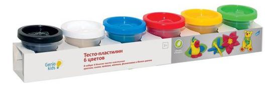 Купить Набор для лепки из пластилина Dream Makers Genio Kids 6 цветов,