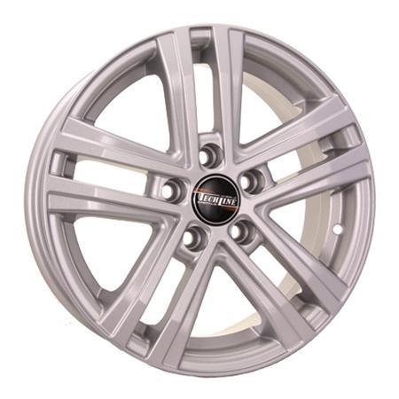 Колесные диски Tech-Line R16 6.5J PCD5x114.3 ET45 D60.1 (T64565166015x114345S) фото