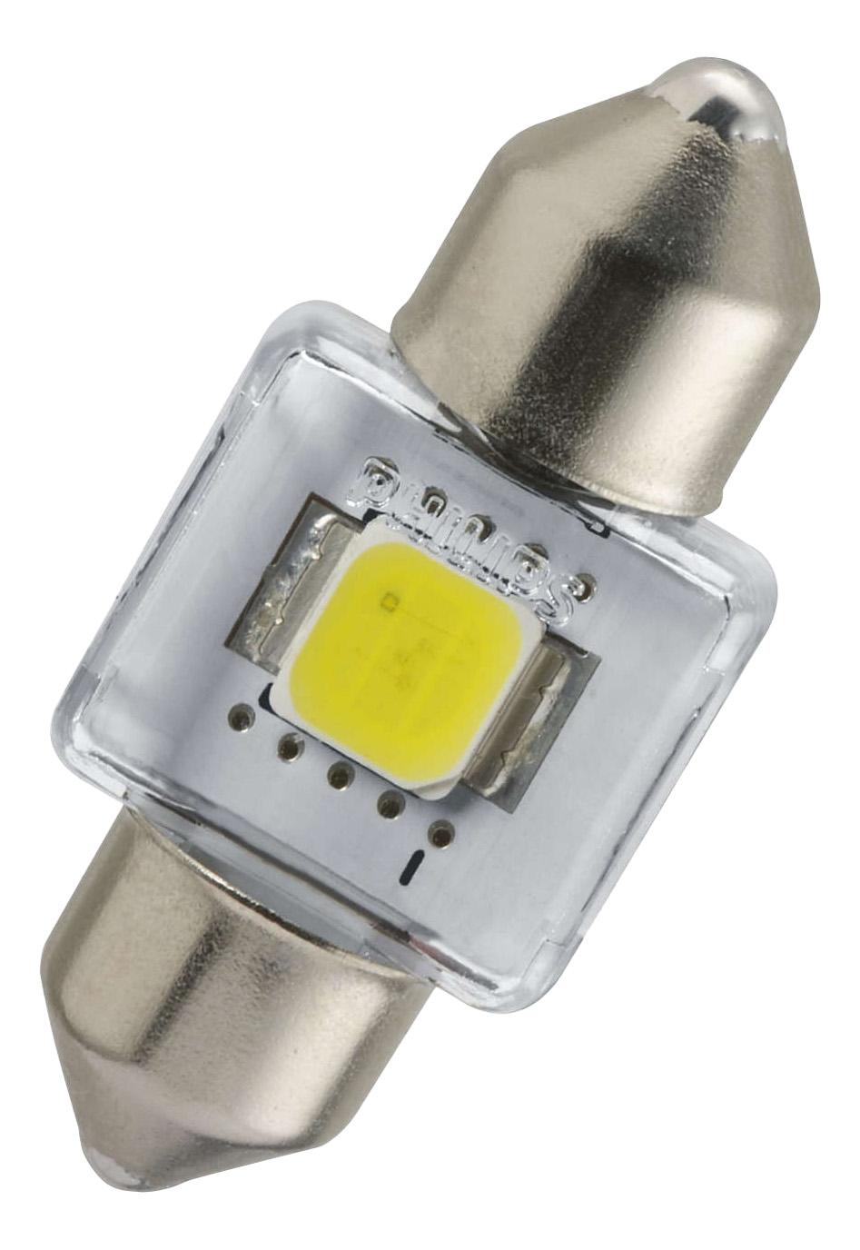 Лампа светодиодная PHILIPS X-tremeUltinon 1W SV8,5-30/12 129416000KX1 фото
