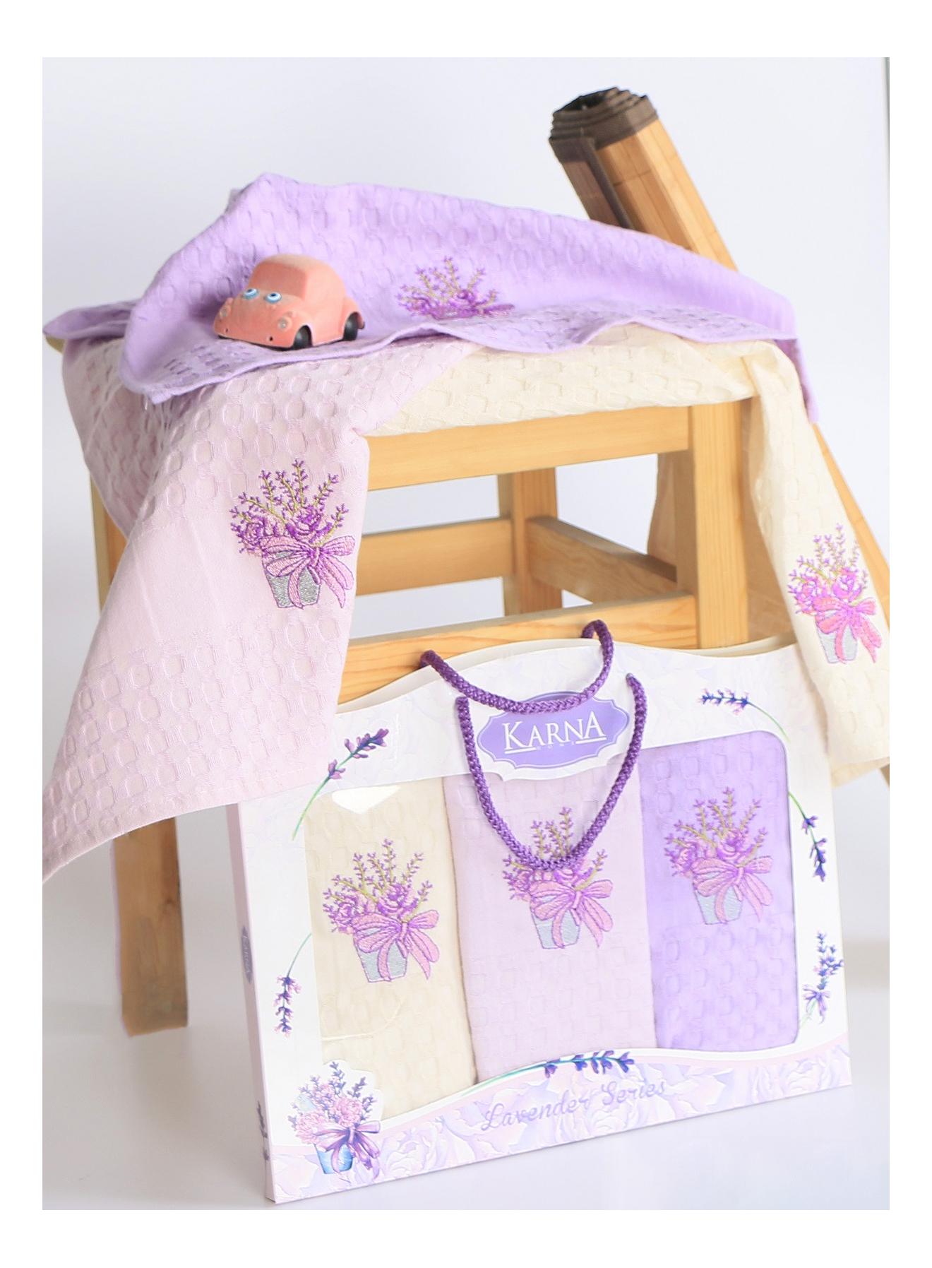Кухонное полотенце KARNA Lavender 45 х