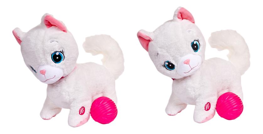 Купить Интерактивное животное IMC Toys Bianca с клубком, Интерактивные мягкие игрушки