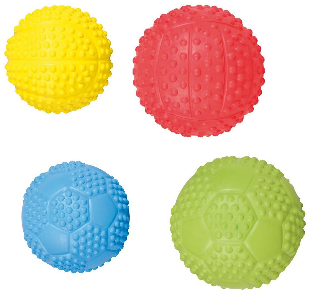 мяч, Пищалка для собак TRIXIE, Каучук, 34843