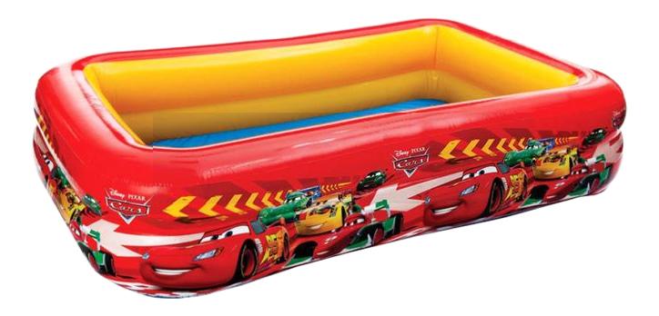 Купить Бассейн, Детский надувной бассейн Intex 57478, 262х175х56см, Тачки Disney-Pixar, 749л, от 6 лет, Детские бассейны