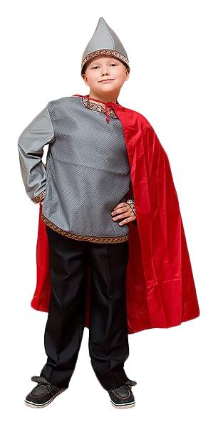 Карнавальный костюм Бока Богатырь, цв. серый; черный;