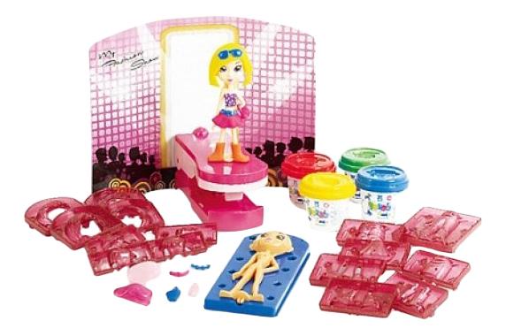 Купить Набор для лепки из пластилина Playgo Модница, Play&Go, Лепка