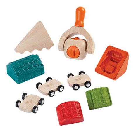 Купить Набор для лепки из пластилина PlanToys Построй город, Лепка