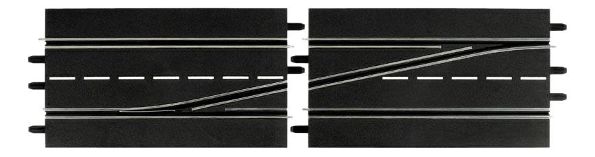 Автотрек Carrera Секция смены полосы влево 30343, Детские автотреки  - купить со скидкой