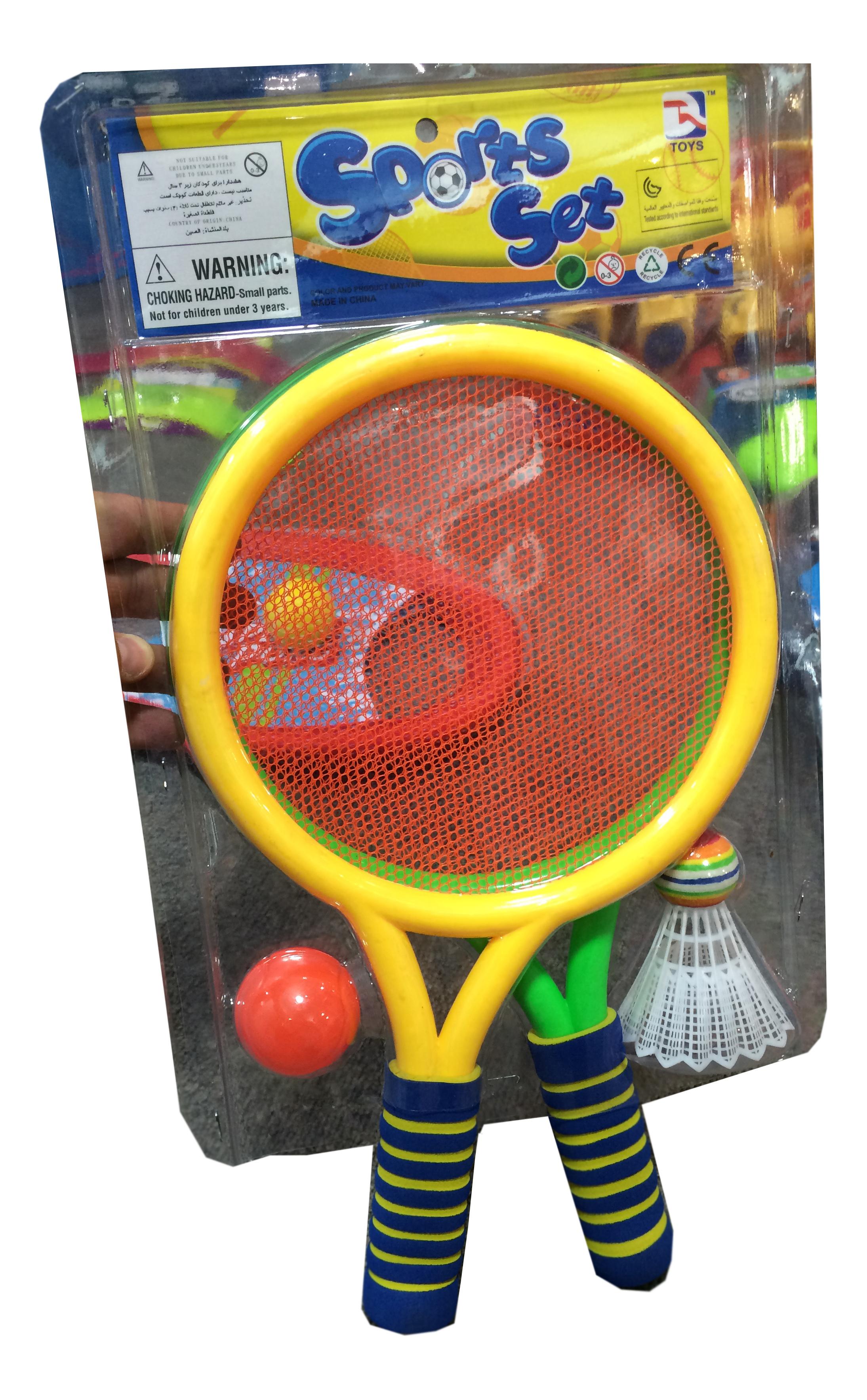 Игровой набор с ракетками 1TOY Sports