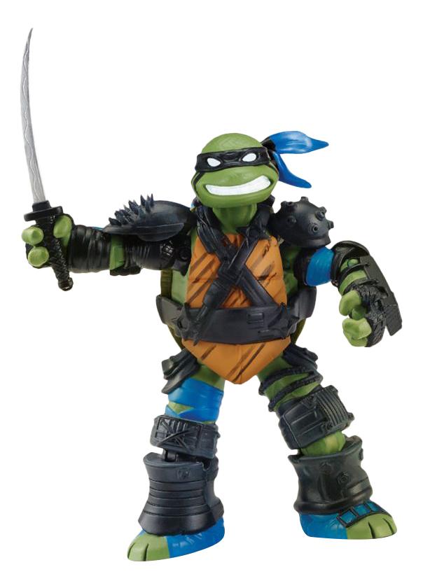 Купить Фигурка Черепашки Ниндзя Супер ниндзя Лео Playmates Toys 90679, Hasbro,