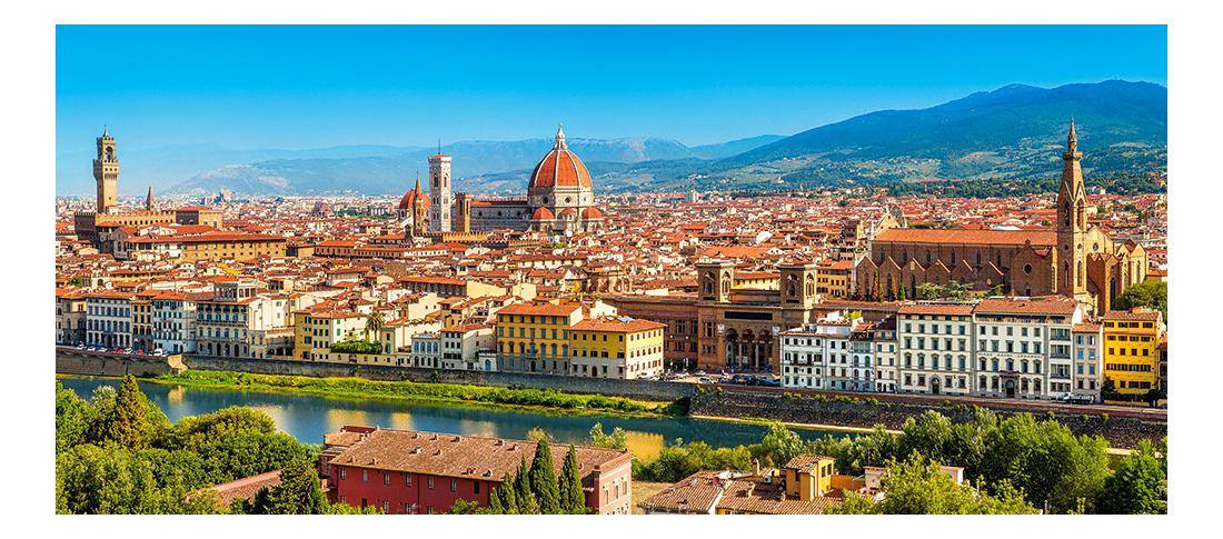 Купить Пазл Панорама Флоренция 600 элем. Кастор, Пазлы