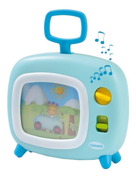 картинка Музыкальная игрушка Телевизор голубой Smoby 211316 от магазина Bebikam.ru